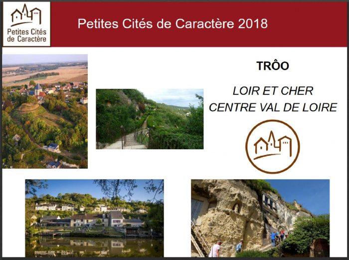 Trôo, nouvelle Petite cité de caractère 2018